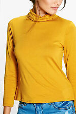 Boohoo Synthetic Laura Turtle Neck Long Sleeve Top Size UK 8 NH191 DD 14