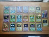 20 Holo Vintage Pokemon Card Lot Base Charizard Included *VERY RARE*