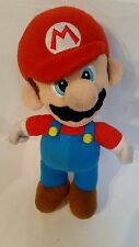 "SUPER MARIO BROS - Mario 9"" Soft Toy Plush Doll 2010 Nintendo Retro Soft Toy"