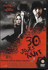 DVD 30 JOURS DE NUIT AVEC JOSH HARTNETT ET MELISSA GEORGE TBE