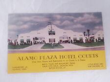 Vintage Alamo Plaza Hotel Baton Rouge Lousiana 1948 Posted 1940s