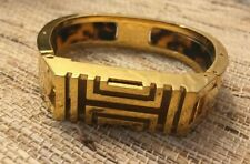Tory Burch Gold Tone Hinged Fitbit Bracelet