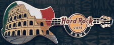 Hard Rock Cafe ROME 2012 COLISEUM GUITAR PIN - Flag of ITALY - HRC #67939