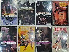 DC COMICS NEAR MINT 5//9//18 OF 8 BATMAN WHITE KNIGHT #8