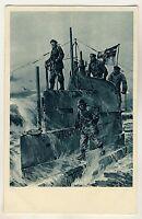 U-BOOT-TAG Kommandoturm eines U-Bootes * STÖWER Künstler-AK 1917