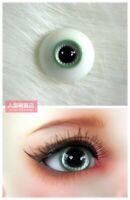 16mm Resin Eyes For 1/3 1/4 1/6 BJD Doll Doll Dollfie Handmade Human iris Green