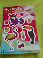 2018 / McDonalds Sticker / Aufkleber happy meal