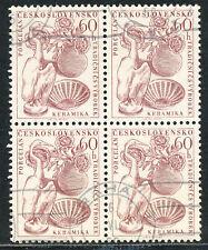 TSCHECHOSLOWAKEI 1956 Tschechoslowakischer Export 60 H Keramik (Vogel: Reiher) O