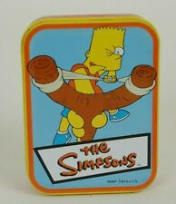 The Simpsons Playing Cards with Collectible Tin Bart Simpson 2001 Rix Products