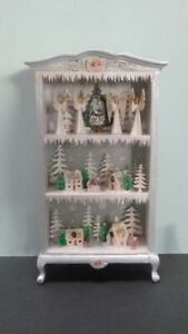 Gorgeous 1:12 Scale Miniature Hemy Eppich Christmas Cabinet