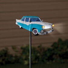 Solar Powered Lighted Classic Car Outdoor Garden Stake