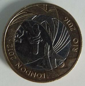 £2 coin London-Rio Olympic handover 2012