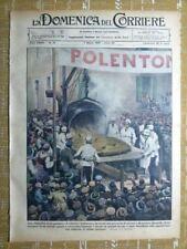 La Domenica del Corriere 7 marzo 1937 Monastero Bormida - Serpente - Mascagni