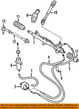VW VOLKSWAGEN OEM 98-05 Beetle Steering Gear-Tie Rod End 1J0422803H