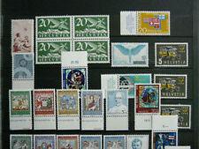 Schweizer postfrische Briefmarken (bis 1945) als Posten & Lots