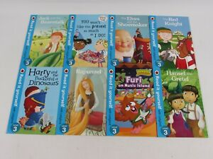 Read It Yourself with Ladybird Level 3, 8 Books Collection Set Book Read Once