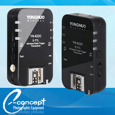 YONGNUO Wireless TTL Flash Trigger YN622 YN-622C High Sync Speed for Canon