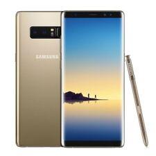 Nuovo Samsung Galaxy Note 8 SM-N950F Acero Oro 64GB Sbloccato di Fabbrica 4G