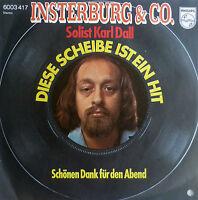 """7"""" 1975 MINT- INSTERBURG & CO Diese Scheibe ist ein Hit"""