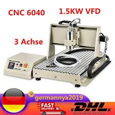 VFD 1.5KW Fräsemaschine Graver Wasserkühlung 3 Achse CNC6040 3D Router Engraver