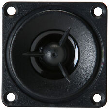 """NEW 2"""" Shielded Replacement Tweeter Speaker.1/2"""" Poly Dome.Square Frame High.8om"""