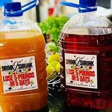 DRINK2SHRINK BUY 1 GET 1 not pre-made  Makes 2 Gallons or 14 16oz. Botttles
