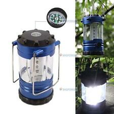 12 LED Bivouac Camping Hiking Riding Tent Lantern Fishing Light FlashLight TF