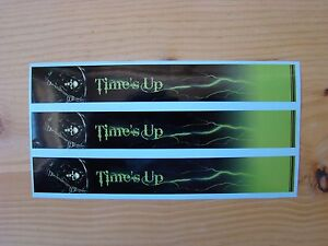 CARBON ARROW WRAPS CUSTOM 13 PACK 7 INCH GREEN GRIM REAPER TIMES UP