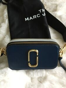 Marc Jacobs Snapshot Bag in Blue