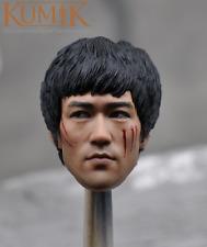 Kumik Custom 1/6 Scale Male figure Bruce Lee head for Phicen M32 body in stock