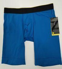 Zella Mens Stretch Boxer Brief Sporty  00006000 Underwear Small (28-30) Blue *New*