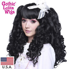 Gothic Lolita Wigs® Baby Dollight™ Collection - Black Mix- 00004