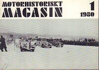 Motorhistoriskt Magasin Swedish Car Magazine 1 1980 Jaguar 032717nonDBE