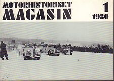Motorhistoriskt Magasin Swedish Car Magazine 1 1980 Jaguar 032717nonDBE