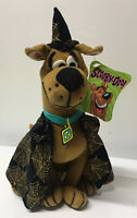 SCOOBY DOO HALLOWEEN PLUSH DOLL Sparkle Gold Cobweb Cape NOSWT DEAD STOCK ~ RARE