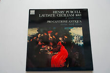 LP Harmonia Mundi Purcell Laudate Ceciliam Pro Cantiona Antiqua Mark Brown  MINT