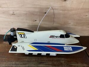 Vintage RC Speed Boat Hitec Kyosho Racing