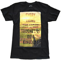 Disney Lion King Everything Light Touches Kingdom Black Men's T-Shirt New