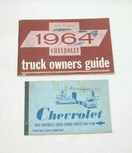 1964 Chevrolet Truck Factory Original Owners Manual Portfolio #M69