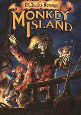 Monkey Island A3 Poster Print GZ1128