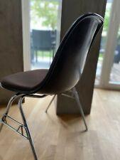 Original Herman Miller Vitra Fiberglas Sidechair Eames Braun Hopsak RE MwSt