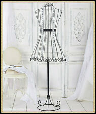 Vintage Metal DRESS FORM Mannequin Body Boutique Store Display Stand Functional