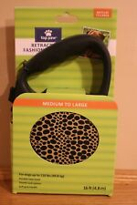 Top Paw Retractable Fashion Tape Leash Medium to Large Dogs