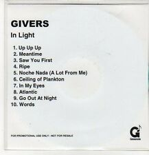 (DC254) Givers, In Light - DJ CD