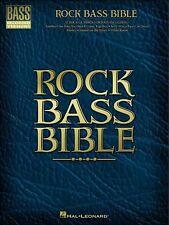 ROCK BASS GUITAR BIBLE TAB SHEET MUSIC SONG BOOK