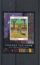 Micronesia 2013 MNH Vincent van Gogh 1v Sheet Painter His Way Work 1888