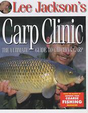 Lee Jackson's Carp Clinic: The Ultimate Guide to Catching Carp, Jackson, Lee, Ne