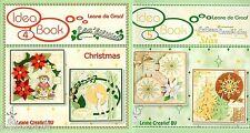 Leane Creatief / leacrea'/ Lea'bilities troqueles IDEA libros no 4 Navidad /