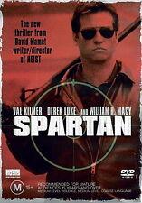 Spartan - Action/ Crime/ Mystery/ Thriller - Val Kilmer - NEW DVD