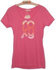 T-Shirt ROXY rose FEMME fille haut top été  NEUF  XL